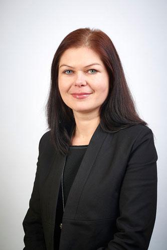 Joanna Hariasz - Skarbnik Miasta w biurze
