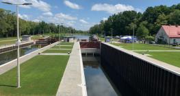 Śluzy na Kanale Gliwickim wyglądają jak nowe