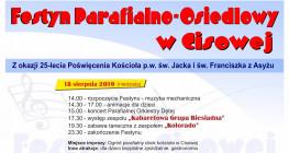 Festyn parafialno-osiedlowy w Cisowej