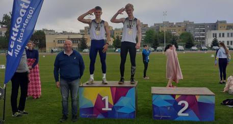 15 medali naszych młodych lekkoatletów