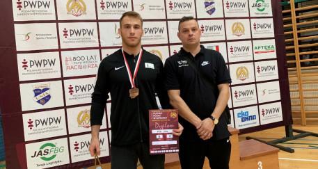 Medal dla zapaśnika z Kędzierzyna-Koźla