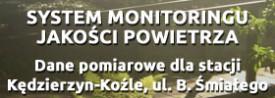 Dane pomiarowe dla stacji Kędzierzyn